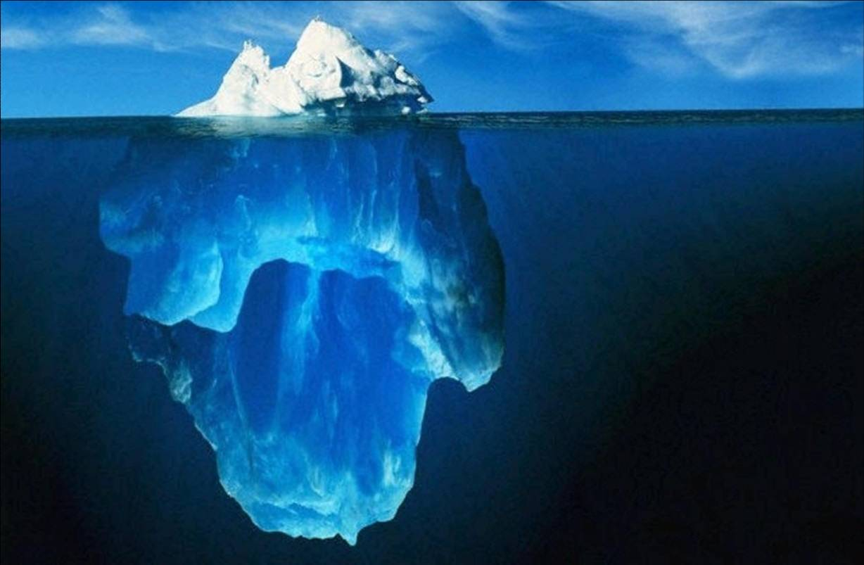 Smacht Blog – How an Ice Berg Can Keep You Poor, Out of Shape and Lonely? – 4th July 2011
